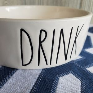 Rea Dunn small pets bowl DRINK